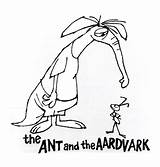 Ant Aardvark Cartoons Morning Coloring Saturday Pages Horn Charlie Classic Don Pending Colin Heed Title Leonardi Toot Claiming Ol Again sketch template