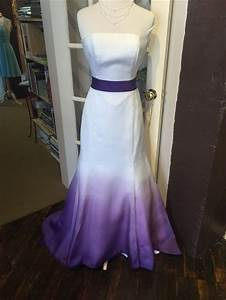 Janell berte dip dyed gown dip dyed wedding dresses for Cheap wedding dresses lancaster pa