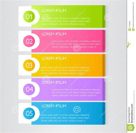 Colorful Infographic Presentation Template Brochure Flyer Business Infographic Template For Presentation Education