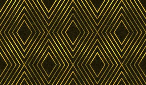 high quality black gold geometric patterns