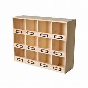 Casier De Rangement : casier de rangement en bois 39 artemio 39 41x11x31 cm la fourmi creative ~ Teatrodelosmanantiales.com Idées de Décoration