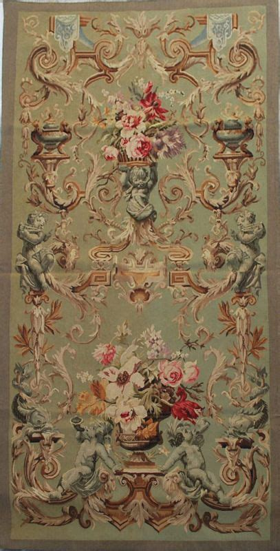 Aubusson Upholstery Fabric by 36 5 Quot X75 Quot Reproduction Handwoven Aubusson Tapestry