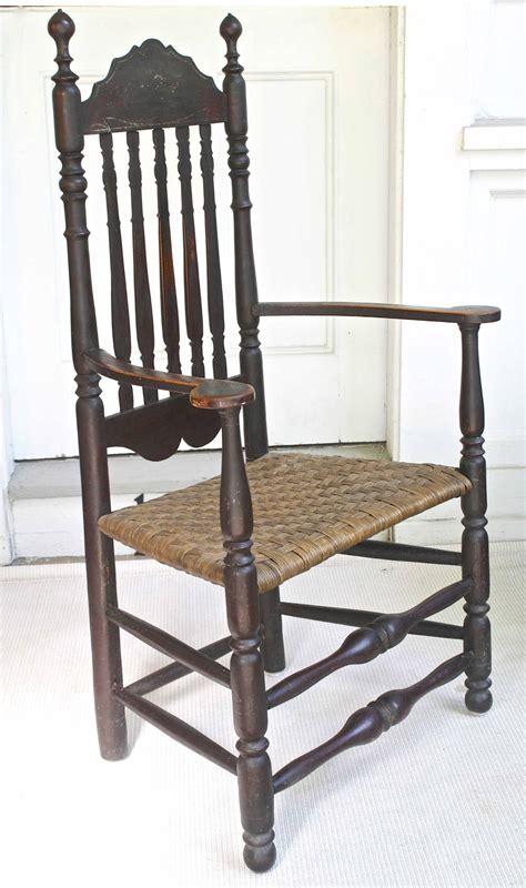 massachusetts bannister back armchair for sale at 1stdibs