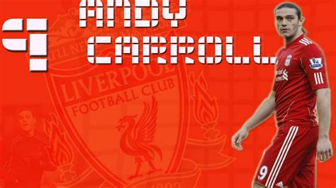 soccer liverpool fc athletes andy carroll football player