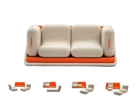 canap orange le canapé lit design est joli et intelligent archzine fr