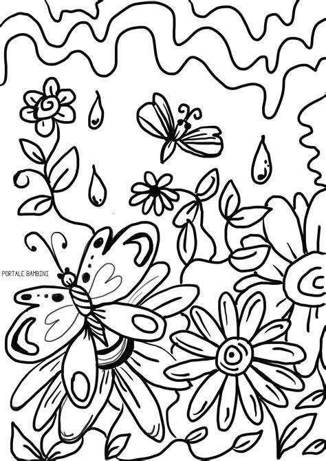 immagini fiori di co da colorare immagini di fiori primaverili da colorare ltt avec 81