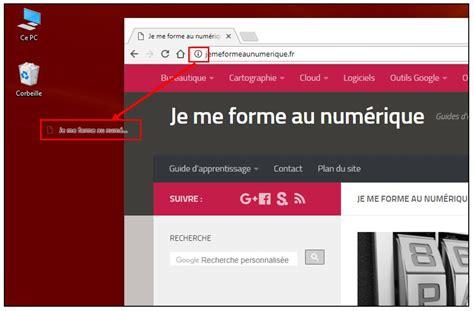 creer un icone sur le bureau créer un raccourci vers un site web sur le bureau de