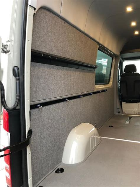 sprinter van wall liner kit  high crew van