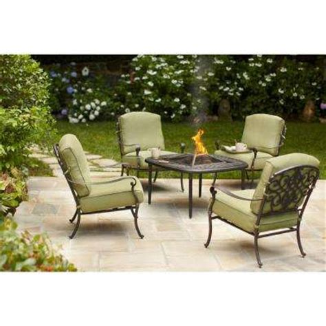 pit sets outdoor lounge furniture the home depot