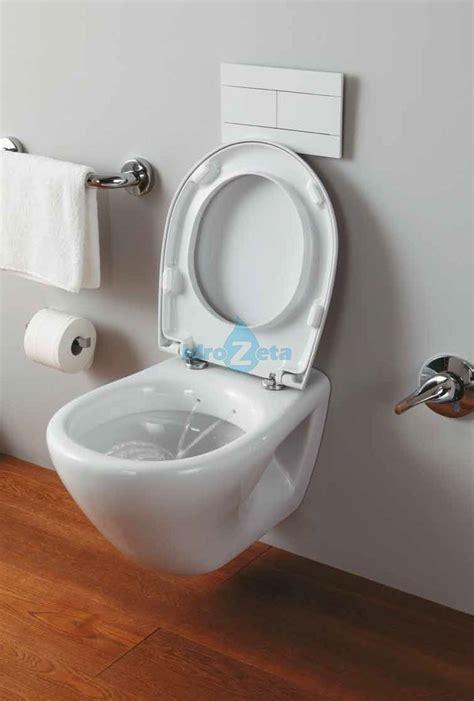 vaso bidet wc sospeso con funzione bidet completo di sedile