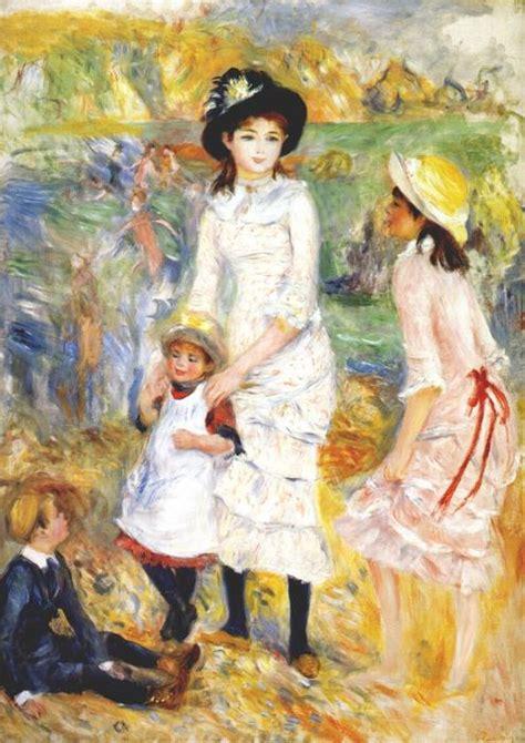 Les Enfants Sur La Plage 1883 De Pierre Auguste Renoir