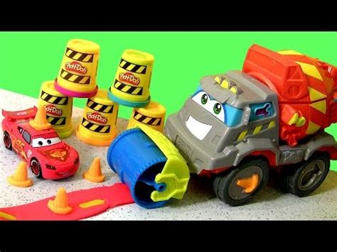 play doh max the cement mixer truck play dough cami 243 n