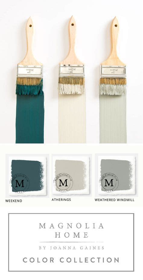 this collection of magnolia home paint from designer
