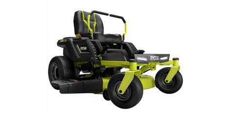 save   ryobis electric  turn lawn mower