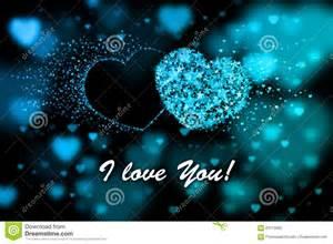 I Love You Heart Blue