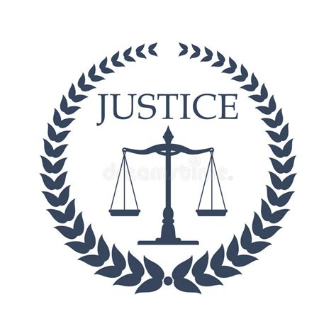 logo cabinet d avocat conception de signe de bureau de cabinet d avocats et d avocat illustration de vecteur