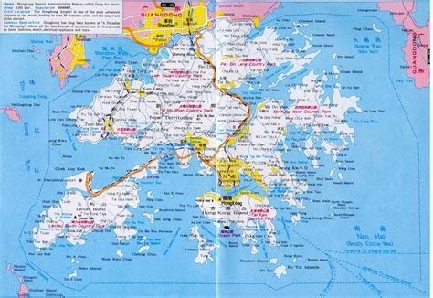 hong kong travel map hong kong maps china  advisors