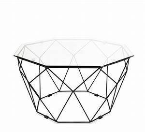 Table Basse Jardin Metal : table basse de jardin g om trique m tal filaire noir 169 salon d 39 ~ Teatrodelosmanantiales.com Idées de Décoration