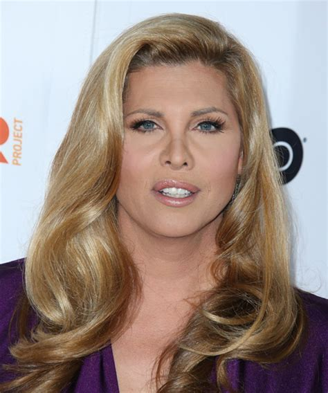 Candis Cayne Long Straight Formal Hairstyle   Medium