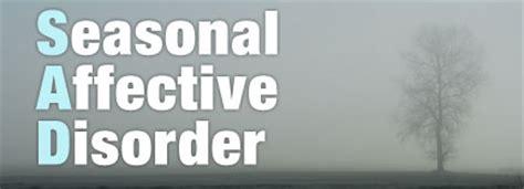 seasonal light disorder ls shedding light on seasonal affective disorder s a d
