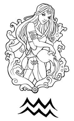135 Best Zodiac Signs Coloring Pages images | Coloring
