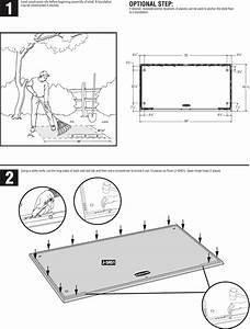 Rubbermaid Outdoor Storage 1s85 Users Manual Big Max Jr