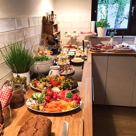 Informal Buffet Dinner by Partybuffet Inspiration Abendbrot F 252 R Die