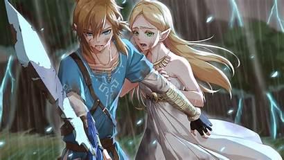 Zelda Link Breath Legend Wild Princess Crying