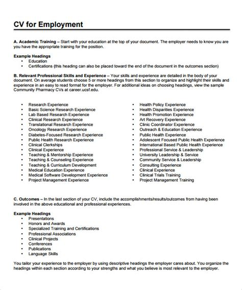 Pharmacist Resumes Templates by Sle Pharmacist Resume 9 Documents In Pdf