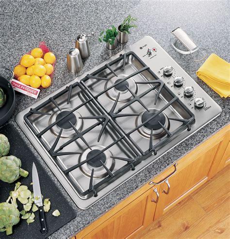 ge profile built gas cooktop jgpsekss ge appliances