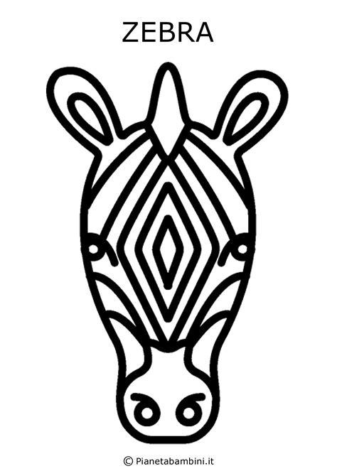facce   animali da stampare colorare  ritagliare pianetabambiniit