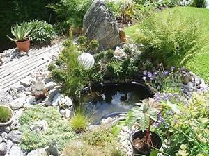 Garten Hügel Bepflanzen : teich bepflanzen 65 super ideen ~ Lizthompson.info Haus und Dekorationen