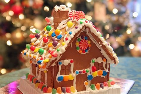 Gingerbread Candy House Pictures, Photos, And Images For