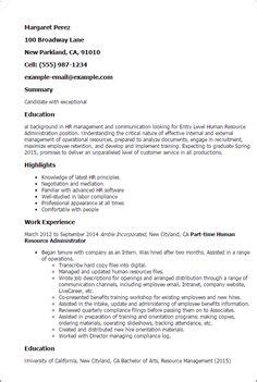 Resume Overview Exles by State Officials Resume Exles Officer Resume