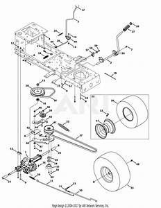 Troy Bilt 13wm77ks011 Pony  2015  Parts Diagram For