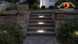 pin by superior landscape irrigation on landscape With low voltage outdoor lighting for steps