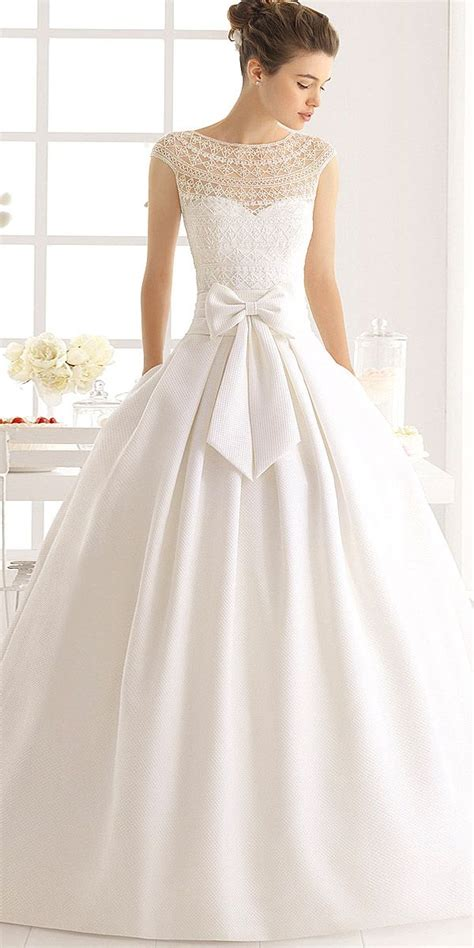 30 Simple Wedding Dresses For Elegant Brides  Vestidos De
