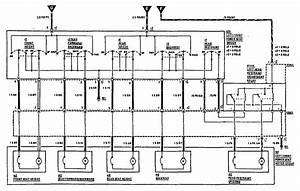 Mercedes 190e  1990 - 1991  - Wiring Diagrams