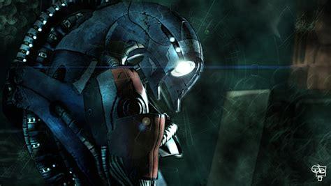 Mass Effect 2 Legion By Blackassassin999 On Deviantart