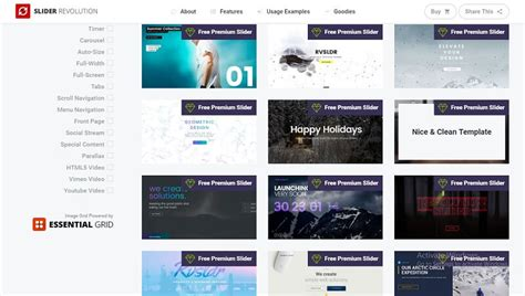 Download Template Slider Revolution Free by Download Free Slider Revolution All Premium Templates Pack