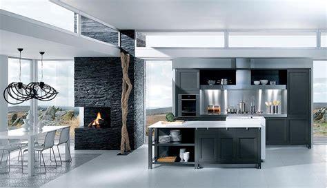 cuisine contemporaine haut de gamme cuisine grise décoration