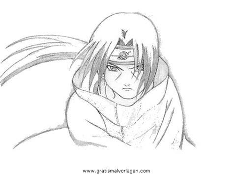 Naruto Itachi 2 Gratis Malvorlage In Comic