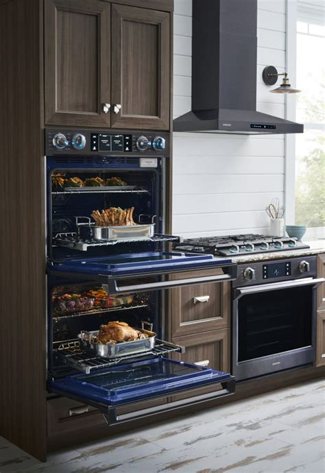 samsung nvksg   wall oven   cu ft capacity steam cook convection rapid