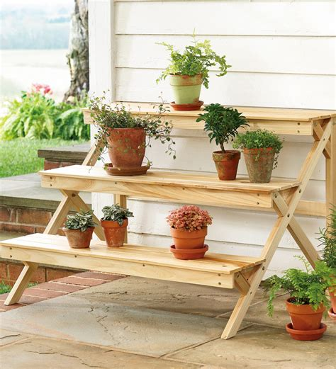 Wooden Patio Plant Stands by Outdoor Garden Storage Cabinets Outdoor Furniture
