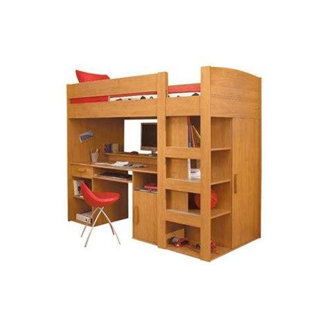 lit mezzanine 1 place avec bureau conforama lit mezzanine combiné montana 90x200cm pas cher