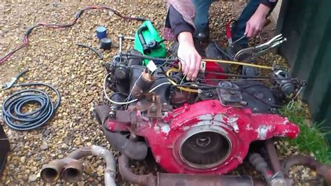 Vw Type 3 Engine Fires Up After About 15