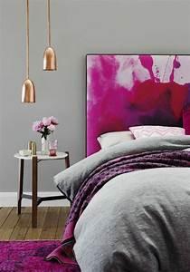 Table Basse Cuivre Rose : 1001 id es pour une lampe de chevet suspendue dans la chambre coucher ~ Melissatoandfro.com Idées de Décoration