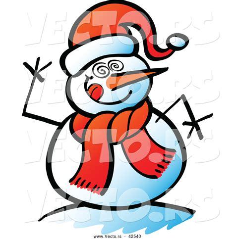 Snowman Face Clip Art