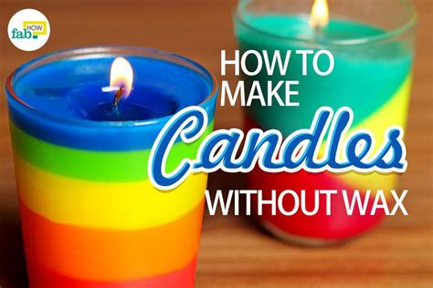 Candles For Home Decor: How To Make Candles Without Wax (3 Methods With Real Pics