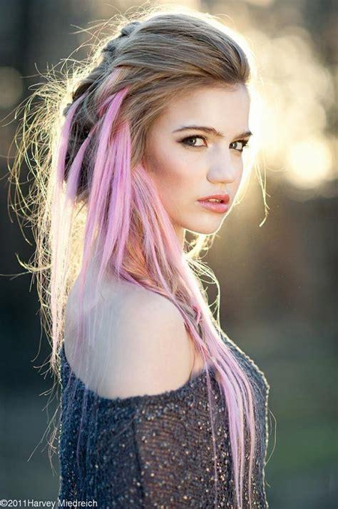 pink hair styles  dye  stylefrizz